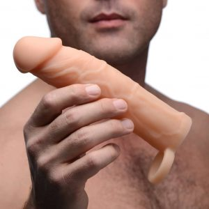 Realistic Silicone 2 inch Penis Extension