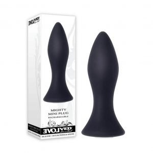 Mighty Mini Rechargeable Silicone Anal Plug