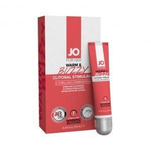 JO® Warm & Buzzy Clitoral Stimulant