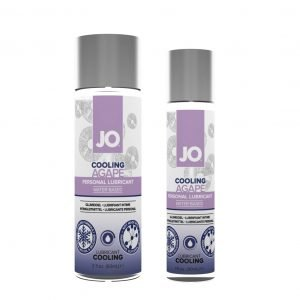 JO Agapé Cooling Water-Based Personal Lubricant 1 and 2oz