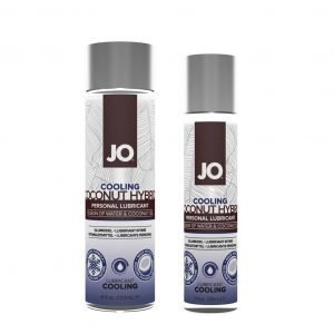 JO Cooling Coconut Hybrid Personal Lubricant – 1oz, 4oz
