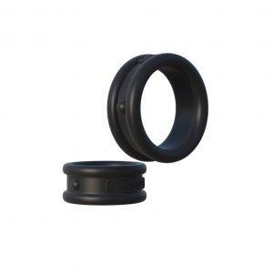 Fantasy C-Ringz Max-Width Silicone Rings - Black