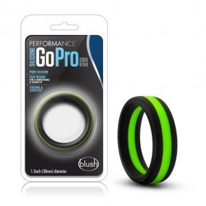 Performance – Silicone Go Pro Penis Ring – Blue, Gold or Green
