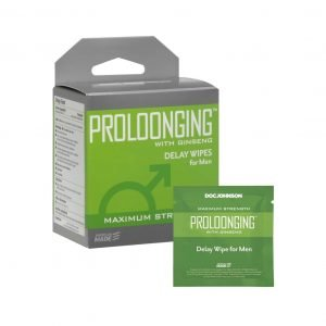 Proloonging with Ginseng - Ejaculation Delay Wipes for Men - 10 Pack