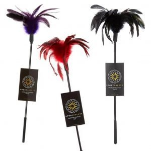 Starburst Feather Tickler in 3 colors – by Sportsheets