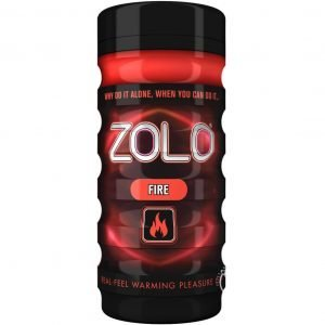 Zolo Fire Cup Textured Masturbator