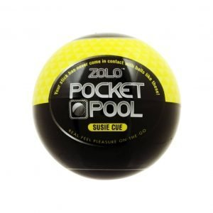Zolo Pocket Pool Susie Cue - Textured Masturbation Sleeve