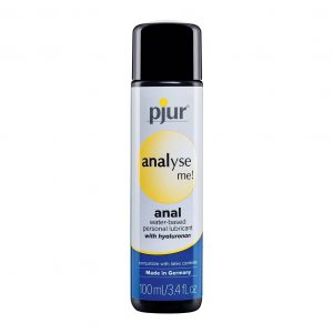 pjur Analyse Me! Water Based Anal Personal Lubricant