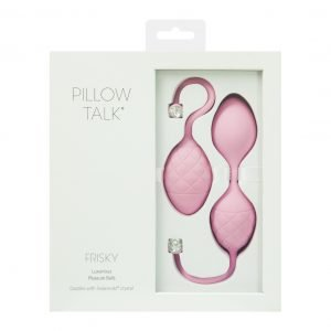 Pillow Talk Frisky – Luxury Silicone Kegel Balls
