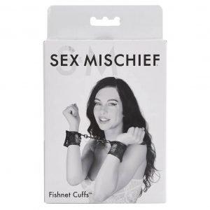S&M Sex and Mischief - Fishnet Cuffs by Sportsheets