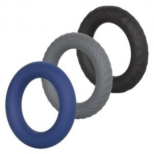 Link Up – Ultra Soft Extreme Silicone Penis Rings – Set of 3