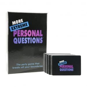 More Extreme Personal Questions Game Card