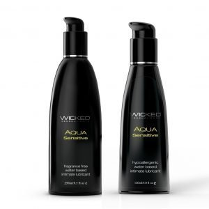 Wicked Aqua Sensitive Unscented Lubricant