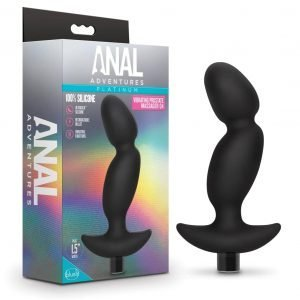 Prostate Massager 04 – Rechargeable Silicone Vibrator