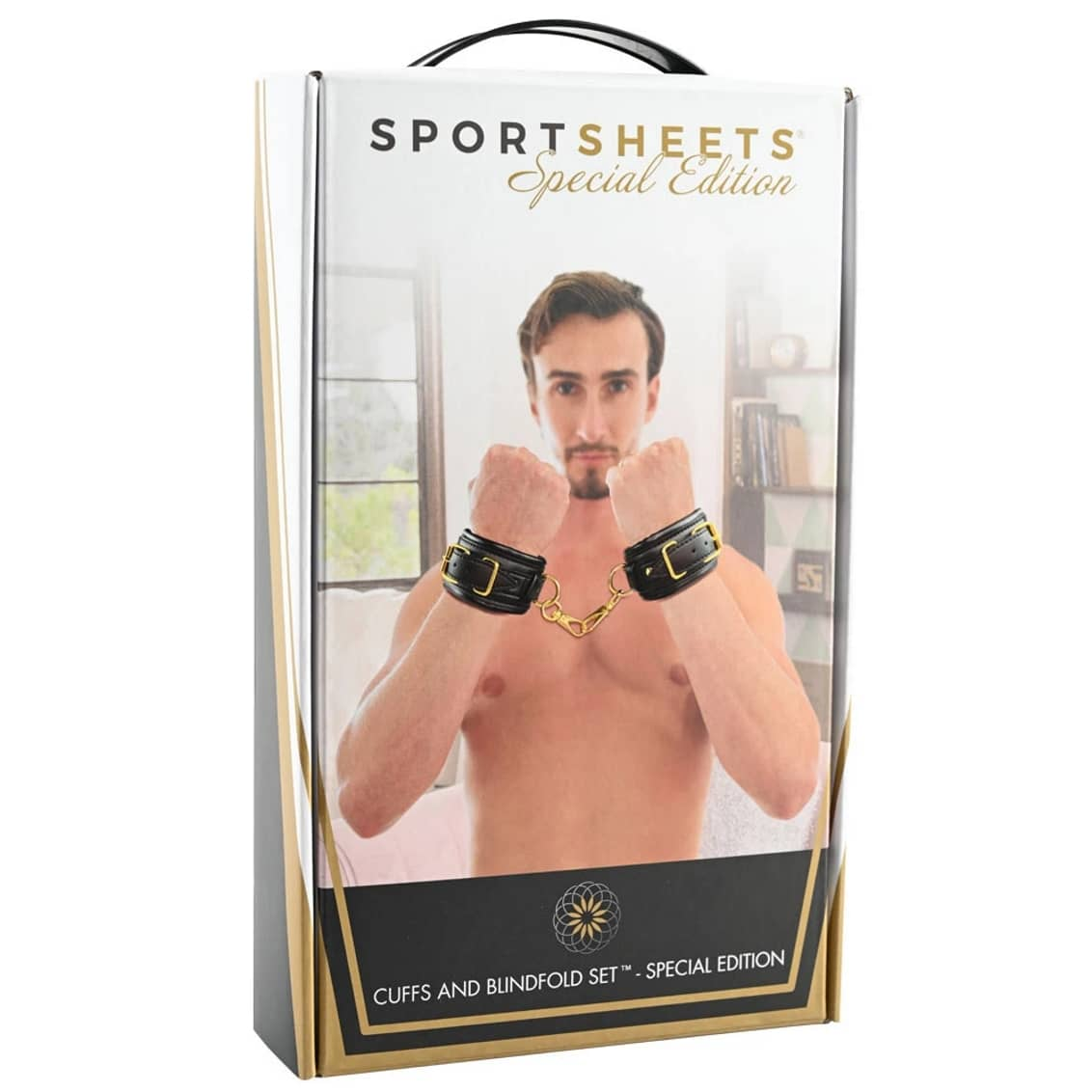 Cuffs and Blindfold Set - Special Edition by Sportsheets